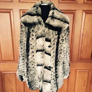 Reversible Chinchilla Swing Fur.